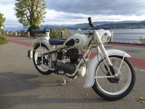 99 BMW R25 weiss Restauriert69