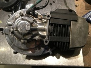 Piaggio 50ccm Motor 12